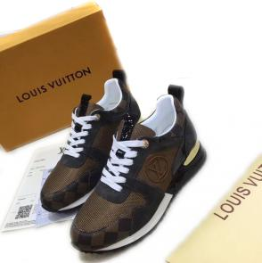 acheter shoes women louis vuitton cowhide run away